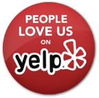 Picture of the people love us on yelp icon